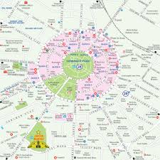 Map Of India Cities Maps Of Delhi