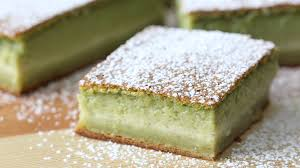 photo cake matcha magic cake recipe tastemade