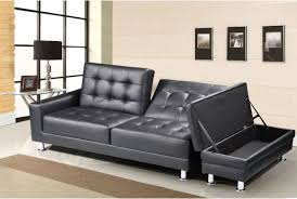 Corner Sofa With Speakers 3 Seater Faux Leather Sofa Bed Futon Small Double Size Multi