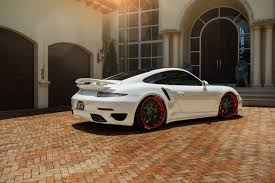 miami blue porsche turbo s white porsche turbo s adv7 track spec cs concave wheels adv 1