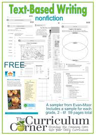text based writing resources u0026 freebie from evan moor the