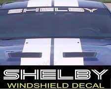 mustang windshield decal mustang windshield decal ebay
