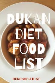 dukan diet food list fitness health