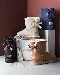 ugg sale mini bailey bow ugg mini bailey bow back boot black neiman