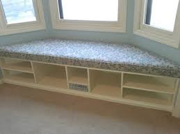 trapezoid cushion custom cushion bay window seat picture with