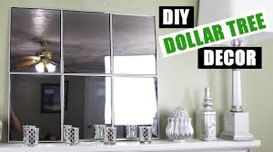 dollar tree diy mirror wall art dollar store diy mirror room
