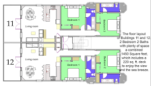 Waterfront Key Floor Plan by The Residences At Barrier Reef Condos For Sale On Ambergris Caye