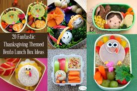 funky polkadot giraffe lunch ideas 20 thanksgiving and fall bento