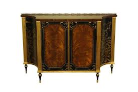 mahogany and rosewood dining room buffet gold and black accents