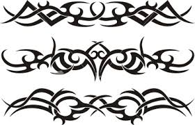 tribal armband tattoos designs for