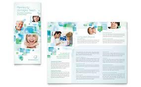 orthodontist tri fold brochure template word u0026 publisher