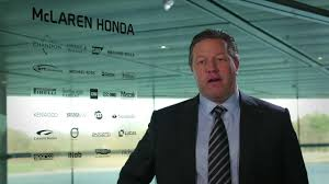 mclaren ceo preseason interview with zak brown mclaren honda youtube