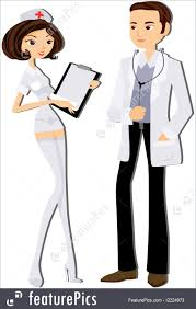 Doctor And Nurse Fine Art Doctor And Nurse Stock Illustration I2224973 At