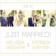 wedding announcement ideas photo wedding announcement idea fave wedding