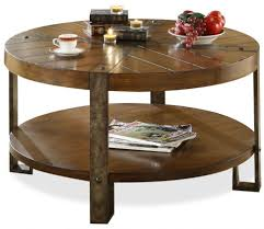 coffee table creative round hammered copper coffee table room