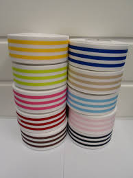 blue and white striped ribbon with stripe grosgrain ribbon deck chair stripe sided