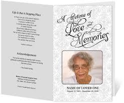 funeral programs templates comely funeral handouts 214 best creative memorials with program