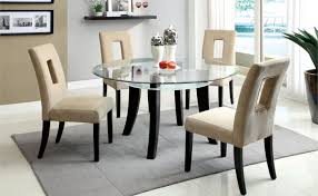 Wrought Iron Glass Kitchen Table EVA Furniture - Glass for kitchen table