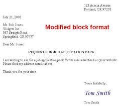 Semi Block Letter Format Business Letter Finch Style Of Business Letter