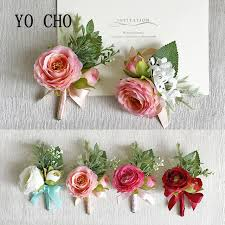 wedding corsages yo cho wedding corsages groom boutonniere bridesmaid