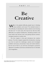 the art of thinking 9e ch05 creativity outsourcing
