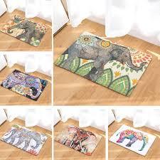 Home Decoration Online Shop Online Shop Carpet India Elephant Printed Suede Carpet Home