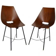 Beautiful Set Of Two Italian Chairs Designed By Riati Circa - Designed chairs