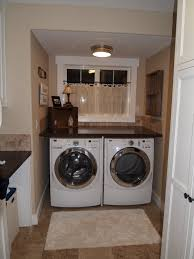 Laundry Room Storage Between Washer And Dryer by Laundry Room Before And After