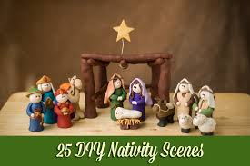 nativity sets 25 diy nativity
