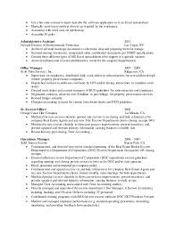 Property Preservation Resume Sample by 100 Career Center Resume Examples Of Resumes Pongo Resume