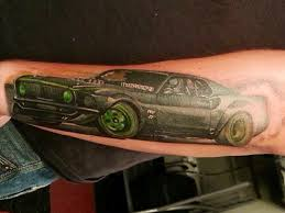 honda tattoos ford mustang tattoo car autos gallery