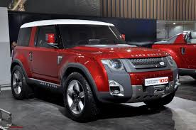 land rover defender concept jaguar land rover including c x75 u0026 defender concept auto expo