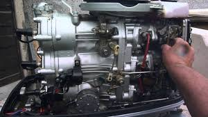 suzuki 85 hp started after carb stripdown and cleaning youtube