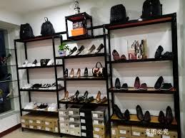 Shoe Display Racks Usd 29 82 Shoes Display Stand Mall Store Shoe Rack Boutique Shoes