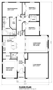 Bungalow Open Concept Floor Plans Open Floor Plan Remodel Before And After Split Master Bedroom