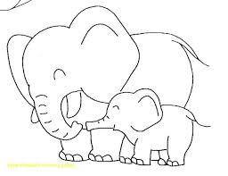 elephant love coloring page baby elephant love her mother coloring page pages christmas stocking