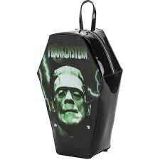 Frankenstein Shower Curtain by Rock Rebel Frankenstein Coffin Backpack