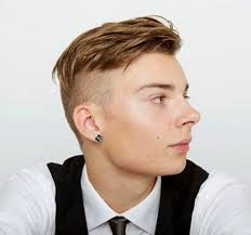 best hairstyles for blonde men fade haircut