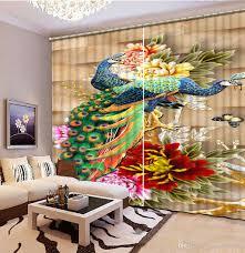 fashion 3d home decor beautiful peacock 3d fashion decor