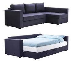 sofa sleeper manstad sectional sofa bed storage from ikea apartment therapy