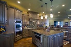 open floor plans with large kitchens large kitchen with island in the center and eat at bar open to a