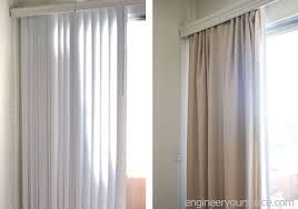 Vertical String Blinds How To Conceal Vertical Blinds With A Curtain Hometalk