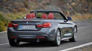 bmw 4 series convertible revealed photos 1 of 11