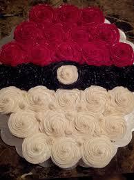 halloween cupcake display pokeball cupcake cake sarita u0027s sweets pinterest cake