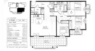 plan appartement 3 chambres plan appartement 80m2 3 chambres