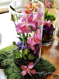 Purple Flowers Centerpieces by 44 Best Low Centerpiece Ideas Images On Pinterest Centerpiece
