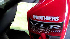 mothers vlr a review of the mothers vlr vinyl leather rubber spray auto care