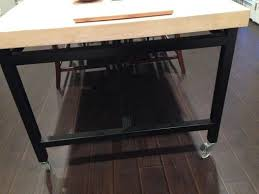 Buy A Handmade Maple Kitchen Table Rolling Island Made To Order - Maple kitchen table