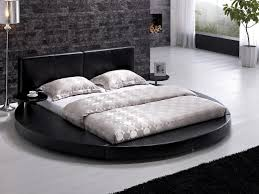 contemporary beds modern contemporary leather round bed