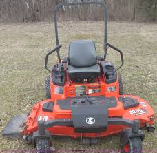 kubota zd331 zdpro commercial lawn mower item e7105 sold